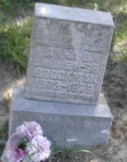 BROOKMAN, ANNA D. - Gallia County, Ohio | ANNA D. BROOKMAN - Ohio Gravestone Photos