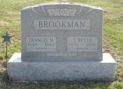 BROOKMAN, FRANCIS M. - Gallia County, Ohio | FRANCIS M. BROOKMAN - Ohio Gravestone Photos