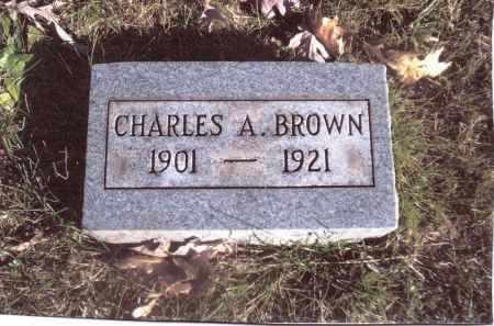 BROWN, CHARLES A. - Gallia County, Ohio | CHARLES A. BROWN - Ohio Gravestone Photos