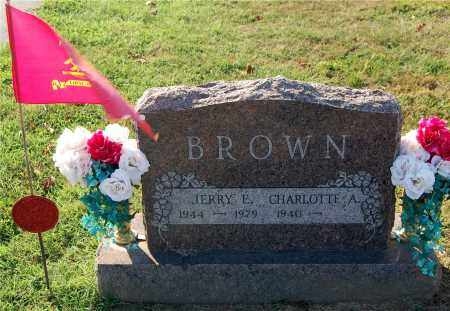 BROWN, JERRY E. - Gallia County, Ohio | JERRY E. BROWN - Ohio Gravestone Photos