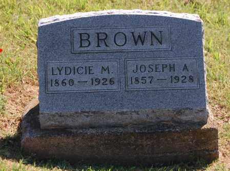 BROWN, JOSEPH A - Gallia County, Ohio | JOSEPH A BROWN - Ohio Gravestone Photos