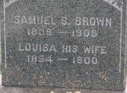 BROWN, LOUISA - Gallia County, Ohio | LOUISA BROWN - Ohio Gravestone Photos