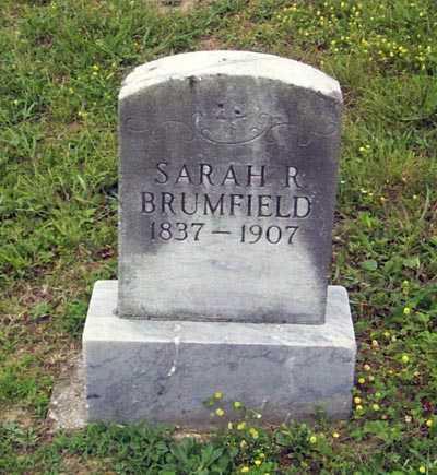 BRUMFIELD, SARAH RUHAMEY - Gallia County, Ohio   SARAH RUHAMEY BRUMFIELD - Ohio Gravestone Photos