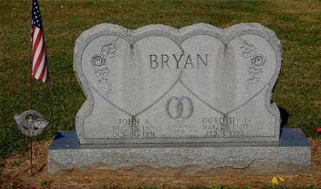 BRYAN, JOHN A - Gallia County, Ohio | JOHN A BRYAN - Ohio Gravestone Photos
