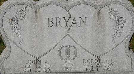 "BRYAN, JOHN A ""CLOSE-UP"" - Gallia County, Ohio | JOHN A ""CLOSE-UP"" BRYAN - Ohio Gravestone Photos"
