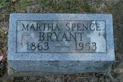 BRYANT, MARTHA - Gallia County, Ohio | MARTHA BRYANT - Ohio Gravestone Photos