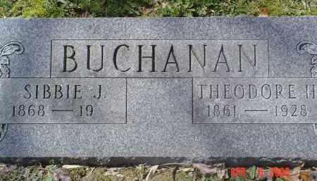 BUCHANAN, SIBBIE J. - Gallia County, Ohio | SIBBIE J. BUCHANAN - Ohio Gravestone Photos