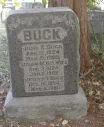 BUCK, JOSEPH - Gallia County, Ohio | JOSEPH BUCK - Ohio Gravestone Photos