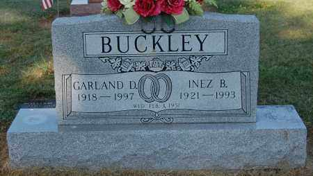 BUCKLEY, INEZ B - Gallia County, Ohio | INEZ B BUCKLEY - Ohio Gravestone Photos