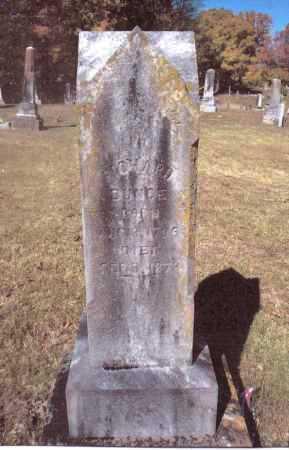 BUNCE, RICHARD - Gallia County, Ohio   RICHARD BUNCE - Ohio Gravestone Photos