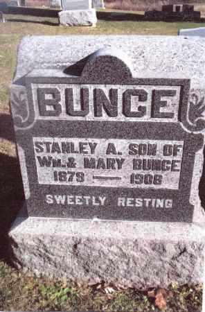 BUNCE, STANLEY A. - Gallia County, Ohio | STANLEY A. BUNCE - Ohio Gravestone Photos