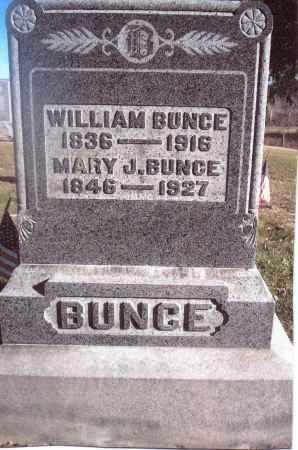 BUNCE, MARY J. - Gallia County, Ohio | MARY J. BUNCE - Ohio Gravestone Photos
