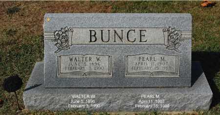 BUNCE, WALTER W. - Gallia County, Ohio | WALTER W. BUNCE - Ohio Gravestone Photos