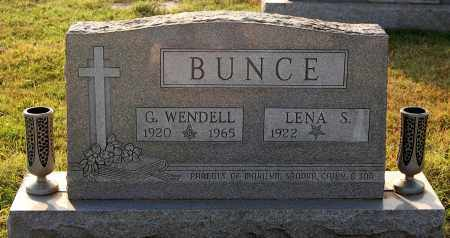 BUNCE, LENA - Gallia County, Ohio   LENA BUNCE - Ohio Gravestone Photos