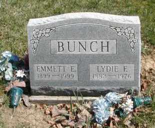 BUNCH, LYDIE E. - Gallia County, Ohio | LYDIE E. BUNCH - Ohio Gravestone Photos