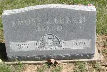 BUNCH, EMORY (BAKER) - Gallia County, Ohio | EMORY (BAKER) BUNCH - Ohio Gravestone Photos