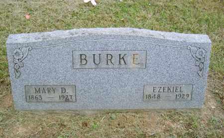 BURKE, EZEKIEL - Gallia County, Ohio   EZEKIEL BURKE - Ohio Gravestone Photos