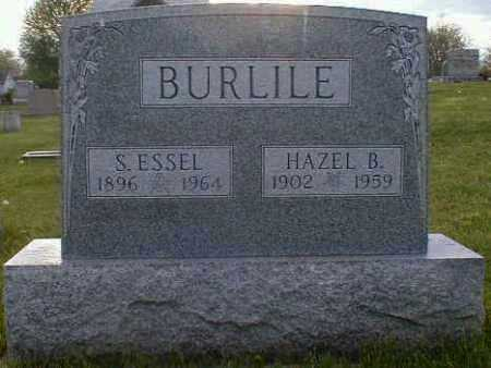 BURLILE, S. - Gallia County, Ohio   S. BURLILE - Ohio Gravestone Photos