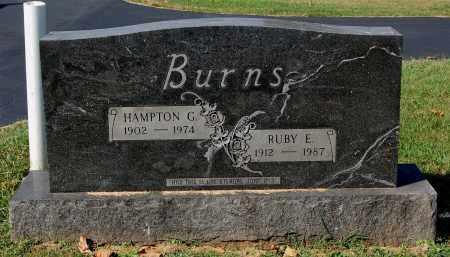 BURNS, HAMPTON G. - Gallia County, Ohio | HAMPTON G. BURNS - Ohio Gravestone Photos
