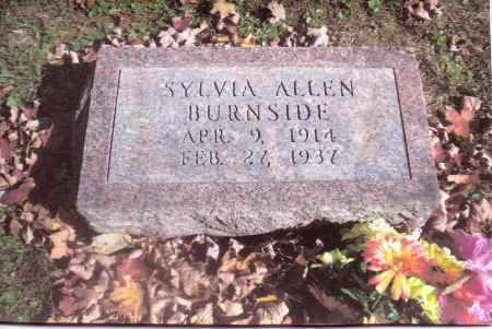 BURNSIDE, SYLVIA - Gallia County, Ohio | SYLVIA BURNSIDE - Ohio Gravestone Photos