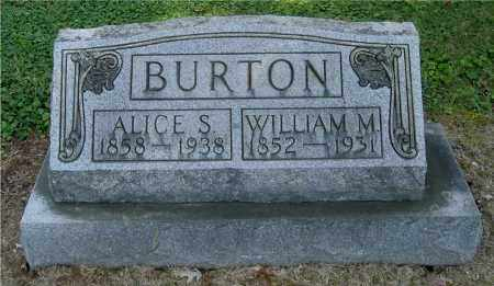 KENT BURTON, ALICE S - Gallia County, Ohio | ALICE S KENT BURTON - Ohio Gravestone Photos