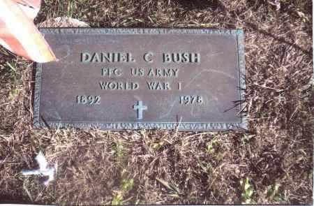 BUSH, DANIEL C. - Gallia County, Ohio | DANIEL C. BUSH - Ohio Gravestone Photos