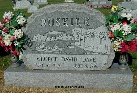 BUSKIRK, GEORGE DAVID - Gallia County, Ohio | GEORGE DAVID BUSKIRK - Ohio Gravestone Photos