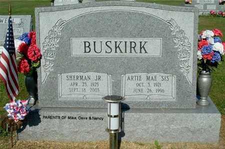 BUSKIRK, SHERMAN, JR - Gallia County, Ohio | SHERMAN, JR BUSKIRK - Ohio Gravestone Photos