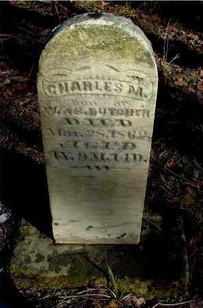 BUTCHER, CHARLES M - Gallia County, Ohio | CHARLES M BUTCHER - Ohio Gravestone Photos