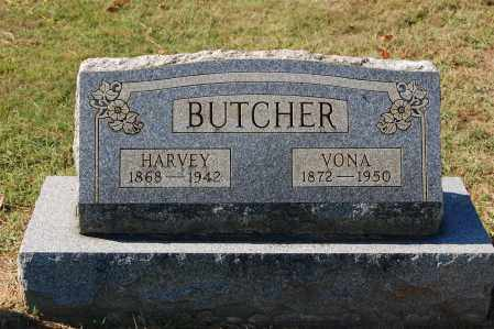 BUTCHER, HARVEY - Gallia County, Ohio | HARVEY BUTCHER - Ohio Gravestone Photos