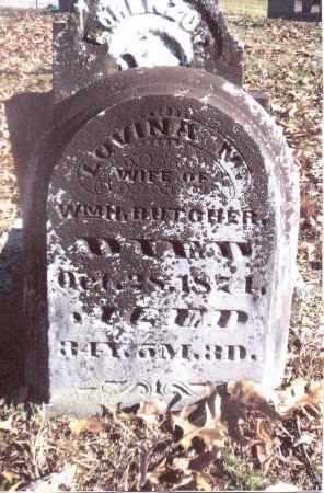 BUTCHER, LOVINA M. - Gallia County, Ohio | LOVINA M. BUTCHER - Ohio Gravestone Photos
