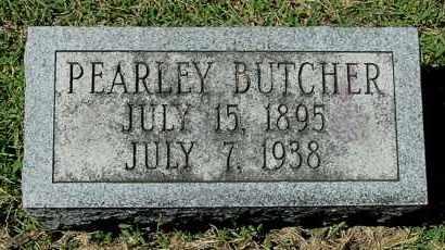 BUTCHER, PEARLEY - Gallia County, Ohio   PEARLEY BUTCHER - Ohio Gravestone Photos