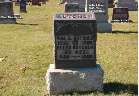 BUTCHER, ELLEN - Gallia County, Ohio | ELLEN BUTCHER - Ohio Gravestone Photos