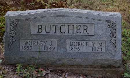 BUTCHER, WORLEY J - Gallia County, Ohio   WORLEY J BUTCHER - Ohio Gravestone Photos