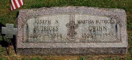 BUTRICKS, JOSEPH N - Gallia County, Ohio   JOSEPH N BUTRICKS - Ohio Gravestone Photos