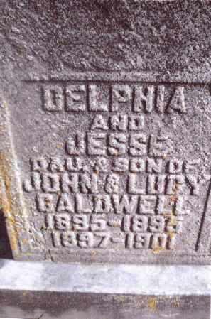 CALDWELL, DELPHIA - Gallia County, Ohio | DELPHIA CALDWELL - Ohio Gravestone Photos