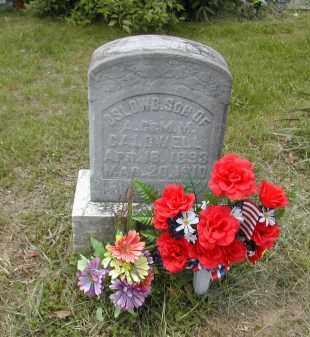 CALDWELL, OSLOW - Gallia County, Ohio | OSLOW CALDWELL - Ohio Gravestone Photos