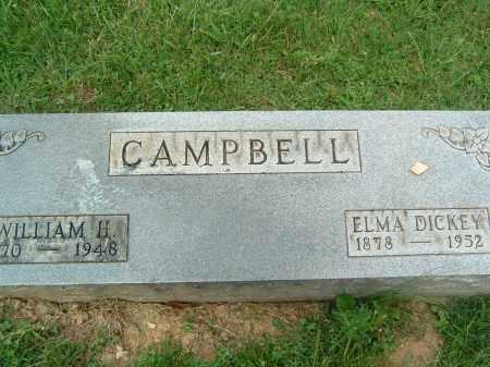 CAMPBELL, WILLIAM H. - Gallia County, Ohio | WILLIAM H. CAMPBELL - Ohio Gravestone Photos