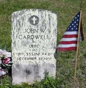 CARDWELL, JOHN W. - Gallia County, Ohio | JOHN W. CARDWELL - Ohio Gravestone Photos