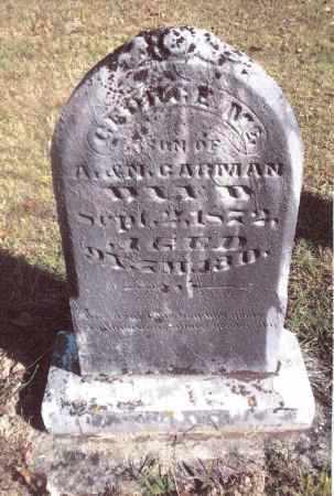 CARMAN, GEORGE MC - Gallia County, Ohio | GEORGE MC CARMAN - Ohio Gravestone Photos