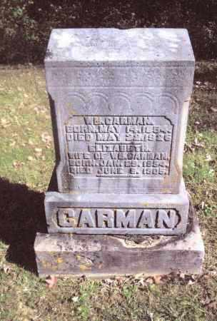 CARMAN, ELIZABETH - Gallia County, Ohio | ELIZABETH CARMAN - Ohio Gravestone Photos