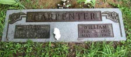 CARPENTER, WILLIAM - Gallia County, Ohio | WILLIAM CARPENTER - Ohio Gravestone Photos