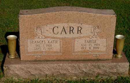 "CARR, FRANCES ""KATIE"" - Gallia County, Ohio | FRANCES ""KATIE"" CARR - Ohio Gravestone Photos"