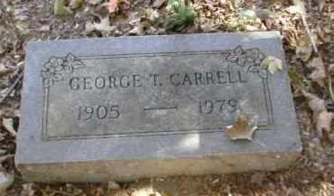 CARRELL, GEORGE - Gallia County, Ohio | GEORGE CARRELL - Ohio Gravestone Photos