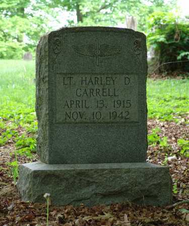 CARRELL, HARVEY D - Gallia County, Ohio | HARVEY D CARRELL - Ohio Gravestone Photos