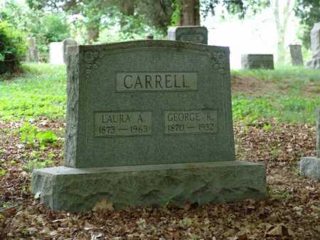 CARRELL, LAURA A - Gallia County, Ohio | LAURA A CARRELL - Ohio Gravestone Photos
