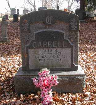 CARRELL, LAURA - Gallia County, Ohio | LAURA CARRELL - Ohio Gravestone Photos