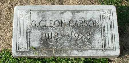 CARSON, GEORGE CLEON - Gallia County, Ohio | GEORGE CLEON CARSON - Ohio Gravestone Photos