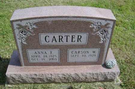 CARTER, ANNA - Gallia County, Ohio | ANNA CARTER - Ohio Gravestone Photos