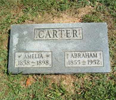 CARTER, AMELIA - Gallia County, Ohio | AMELIA CARTER - Ohio Gravestone Photos